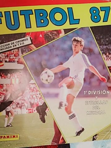 Álbum Cromos De Fútbol Año 87 Completo