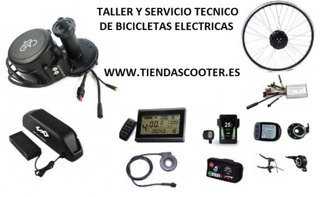 TALLER DE BICICLETAS ELECTRICAS Y SCOOTE - foto 1