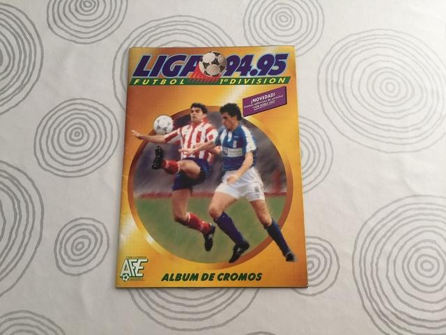 Album De Cromos Liga 94-95 Ediciones Est