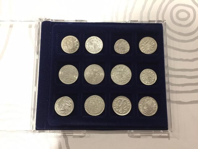 Coleccion De Monedas Valencianas Plata