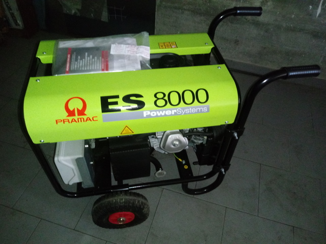 PRAMAC ES 8000 TRIFASICO/MONOFASICO - foto 1