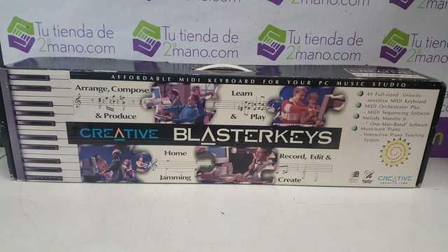 PIANO ELECTRICO CREATIVE BLASTERKEYS - foto 1