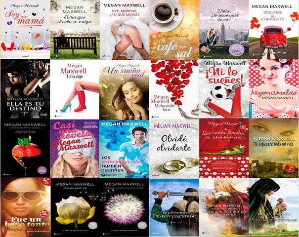 Lista De Libros De Megan Maxwell Mayoría Lista