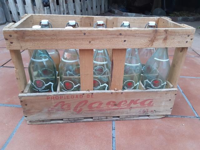 Caja De Madera De La Casera Vintage