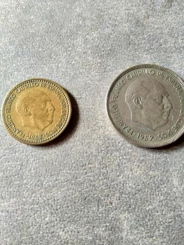 Moneda 1 Pts Y 25 Pts Con Error De Cuño