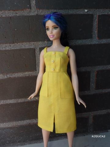 Vestidos Para Barbie Curvy