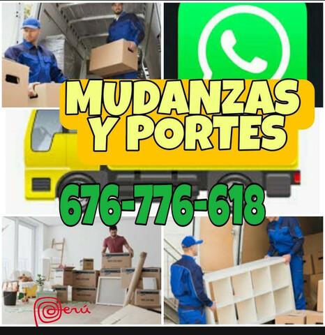 MUDANZAS Y PORTES ECONÓMICOS 632108265 - foto 1