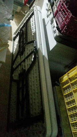 MESAS PLEGABLES 2 M. POR 90 - foto 1