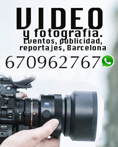 FOTOGRAFO Y VIDEO PROFESIONAL  BARCELONA - foto 1