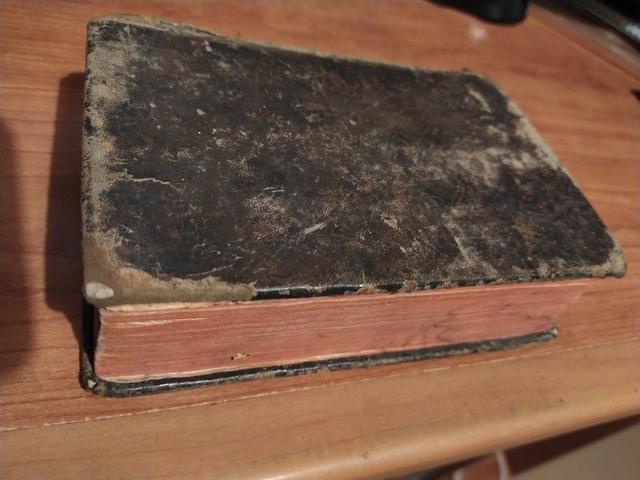 Libro Antiguo 1822