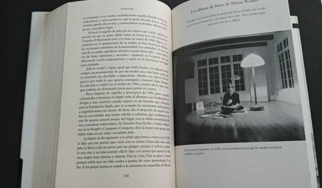 LIBRO STEVE JOBS 1ERA EDICIÓN - foto 4