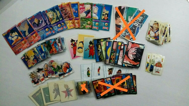 Vendo Material Dragon Ball Comestibles
