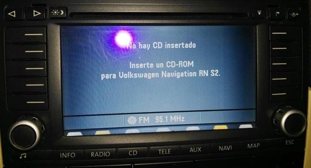 Autorradio ford mk3 CD travelpilot Navi navegación Blaupunkt código está a punto