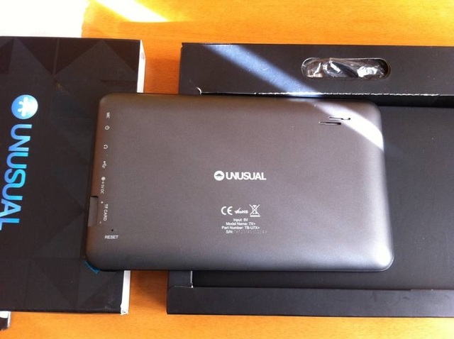 TABLET UNUSUAL U7X COMO NUEVA - foto 3