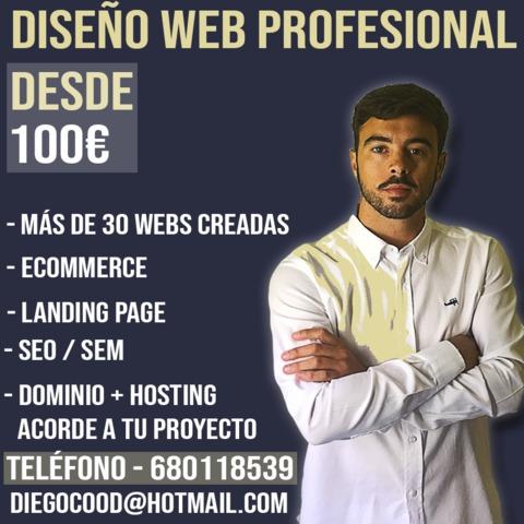 DISEÑADOR WEB - ALMERÍA - foto 1