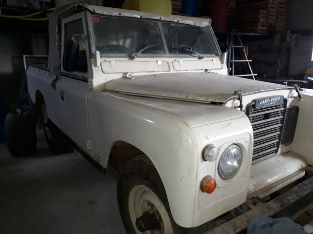 LAND ROVER - CAMION CAJA - foto 2