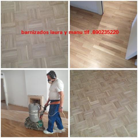 PARQUET TARIMAS BARNIZADO ACUCHILLADO - foto 6