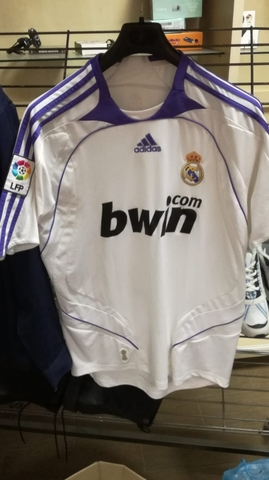 Camiseta R. Madrid 07/08