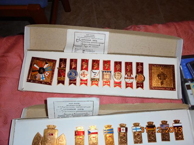 Vendo Lote Pins De Rusia.100.E