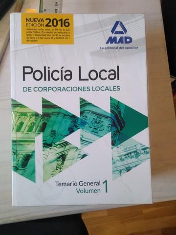LIBROS POLICÍA LOCAL - foto 1