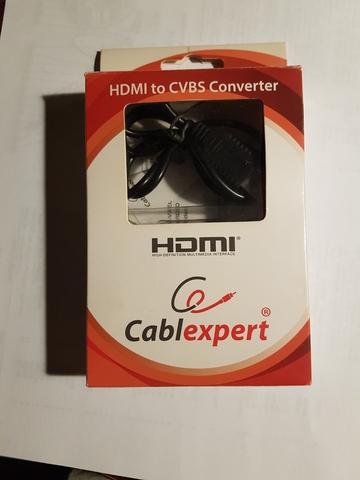 CONVERSOR HDMI-CVBS TELEVISORES ANTIGUOS - foto 1