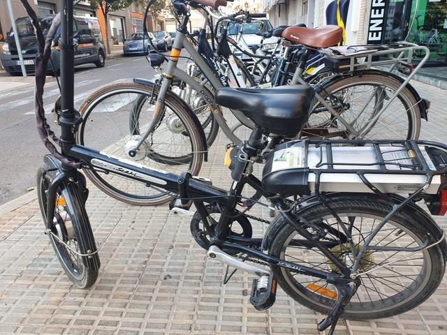 Bicicleta Electrica Con Bateria10Ah 24V