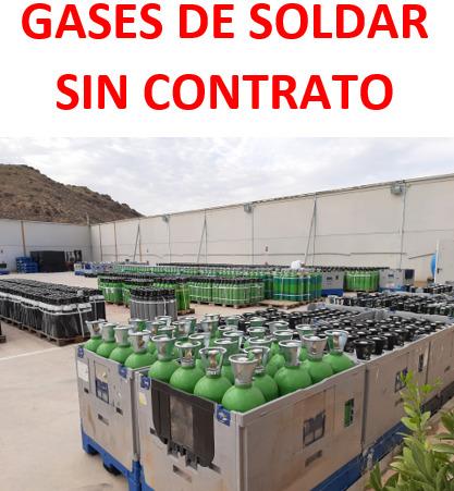Gas Soldadura Mig Bombonas Sin Alquiler