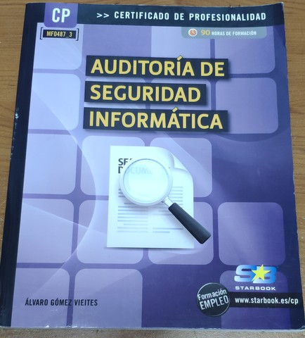 LIBRO AUDITORIA DE SEGURIDAD INFORMÁTICA - foto 1