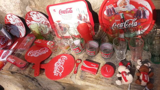 40 Piezas D Coleccion D Coca Cola