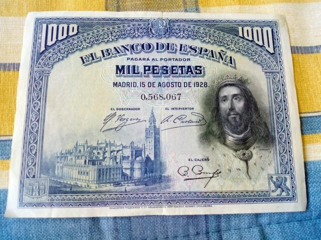 1000 PESETAS SAN FERNANDO - foto 1