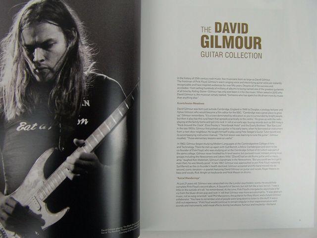 LIBRO-THE DAVID GILMOUR GUITAR COLECTION - foto 2