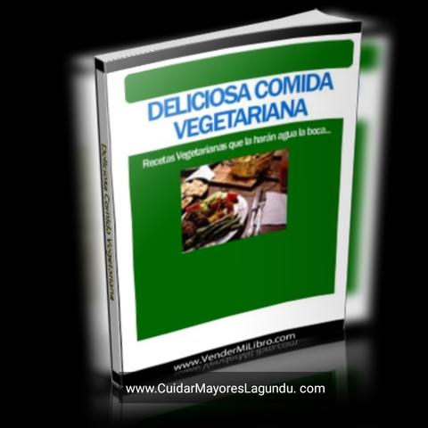 DELICIOSA COMIDA VEGETARIANA EBOOK LIBRO - foto 2