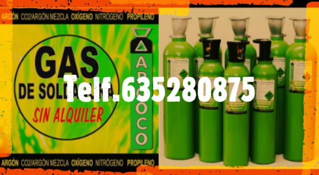 Gas Soldadura Sin Contrato Sin Alquiler
