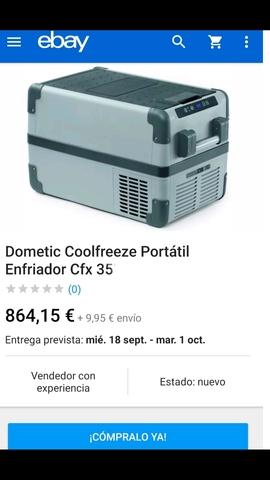 NEVERA CONGELADOR FURGONETA CAMPER - foto 7