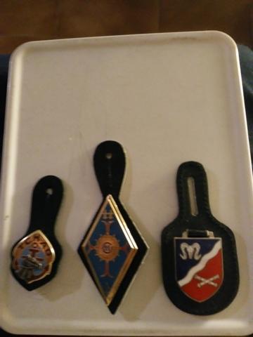 3 Insignias Del Ejército Francés