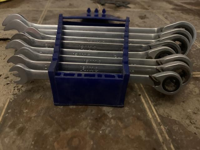 Llave combinada de trinquete 10//12//13//17//19 mm para carpinter/ía//electricista herramienta de hardware llave de carraca