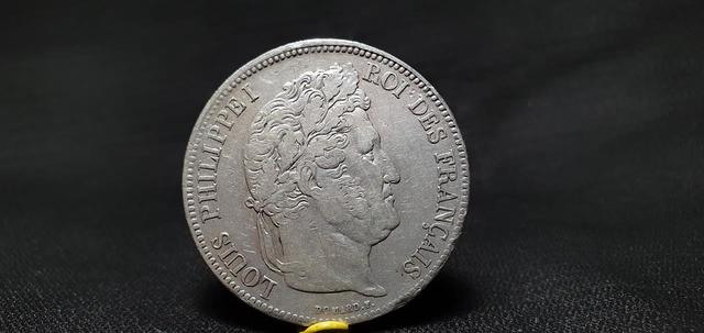 Moneda De Plata Louis Philippe