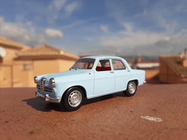 Alfa Romeo Giulietta Berlina Escala 1/43