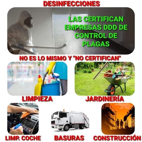 MILPLAGAS / DESINFECCIONES  CERTIFICADAS - foto 3