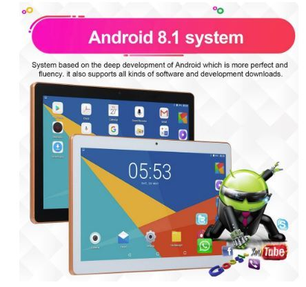 """TABLET 10, 1"""" PARA ANDROID 8, 1 TABLET PC - foto 5"""