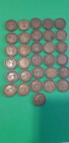 31 Monedas De 2,5 Pts. 1953 *54