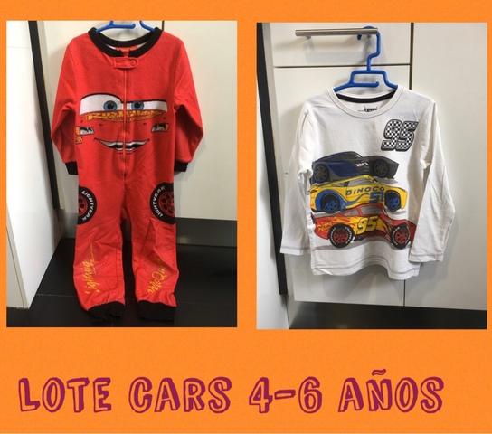 LOTE CARS 4-6 AñOS