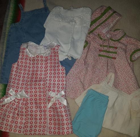 Pretty Bebé Niñas Pantalones Cortos En Color Rosa O Azul Estampado de Flores 6-12 12-18 y 18-23 meses