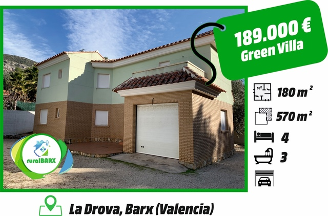 GREEN VILLA LA DROVA BARX/GANDIA - foto 1