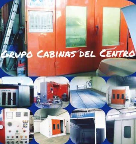 CABINAS PINTURA MONTADOR Y DESMONTADOR - foto 1