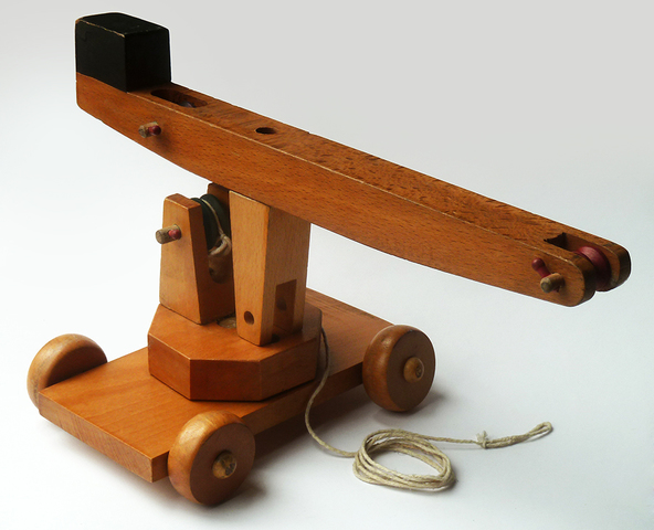 Juguete Madera Antiguo Años 60 Torelló
