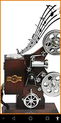 Maquina Cine  Decoracion  Caja Musical