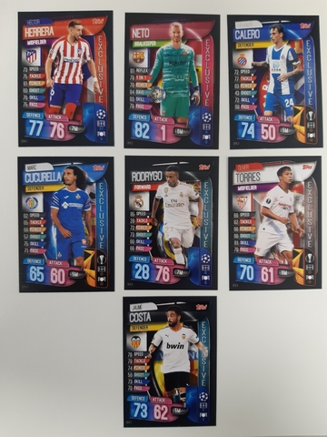 EPL Match Attax 17//18 completo equipo conjuntos