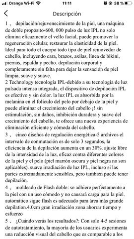 MÁQUINA DEPILACIÓN LÁSER IPL A ESTRENAR - foto 5