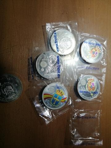 Monedas Plata 30 Euros